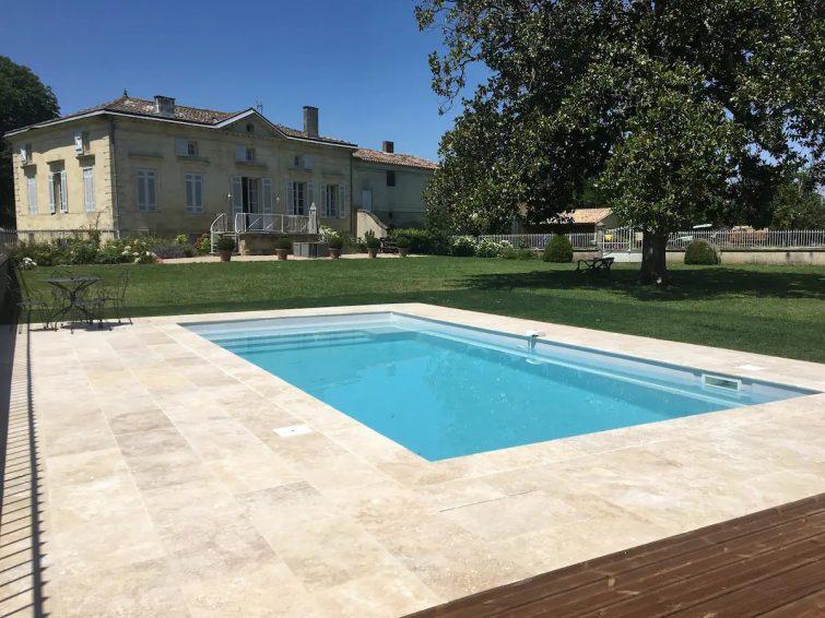 Propriété viticole de charme avec Piscine près de Saint-Emilion