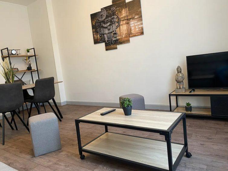 Airbnb à Montluçon L'appartement de Molière N°4 (4 couchages)