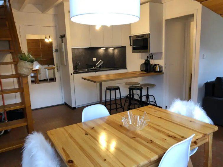 Appartement duplex centre village de Airbnb à Saint Lary-Soulan