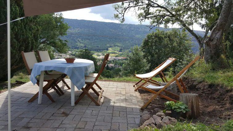 Maison type chalet sur les hauteurs Airbnb aux Saulxures-sur-moselotte