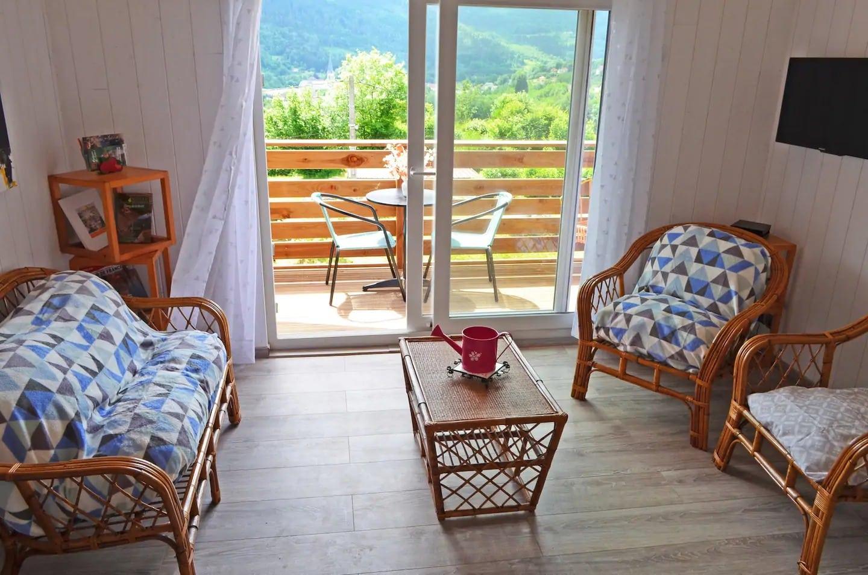 Gîte de vacances *** - Vue panoramique - Sauna