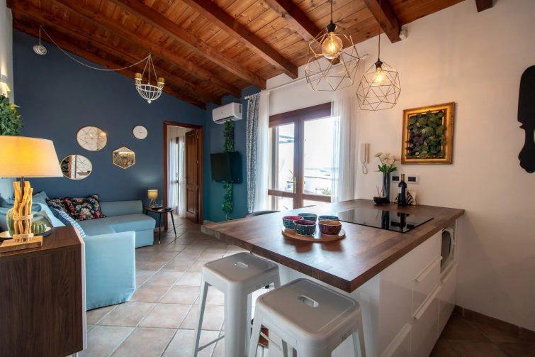 Airbnb à Syracuse Attico in centro con esclusiva terrazza vista mare