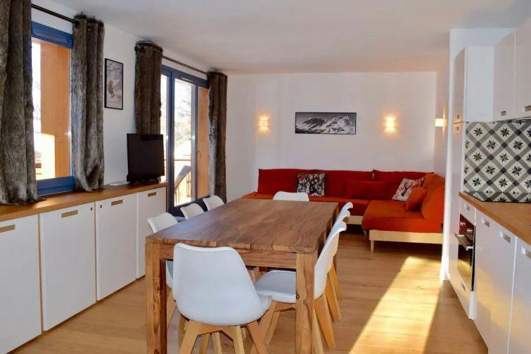 Duplex sur les pistes Résidence l'Albane Airbnb à Vars