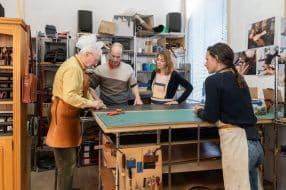 Ateliers Nice : porte-monnaie en cuir