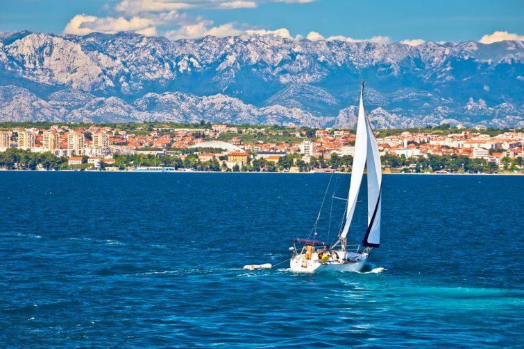 Une balade en bateau - visiter Zadar