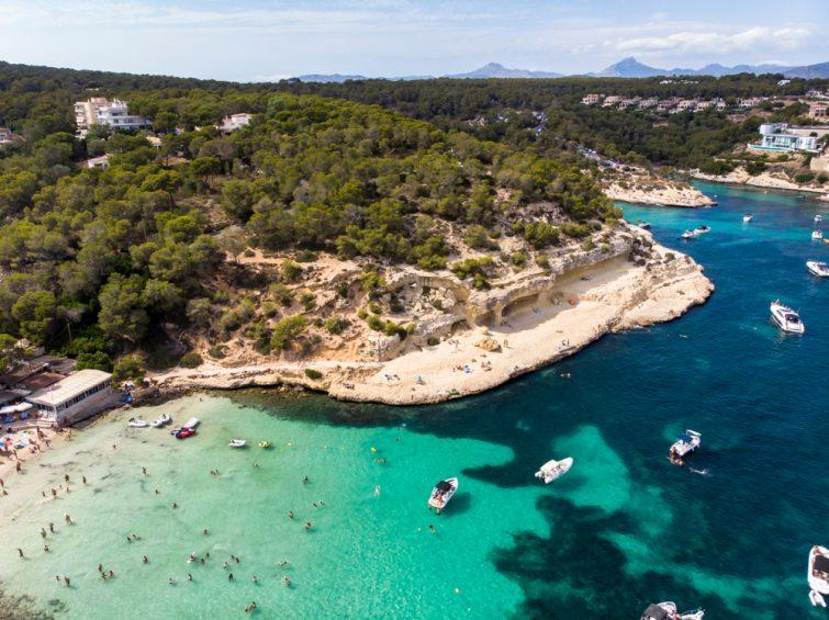 Balade bateau Majorque : Portals Vells