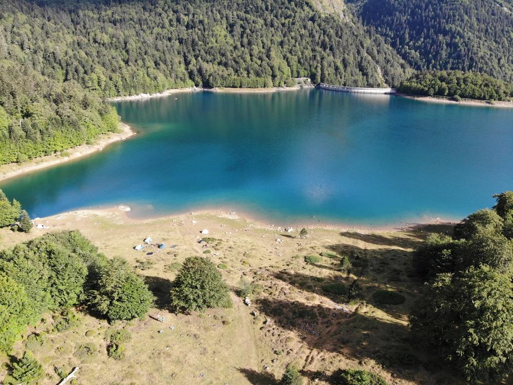 piragüismo Pirineos: en el lago Bious-Artigues