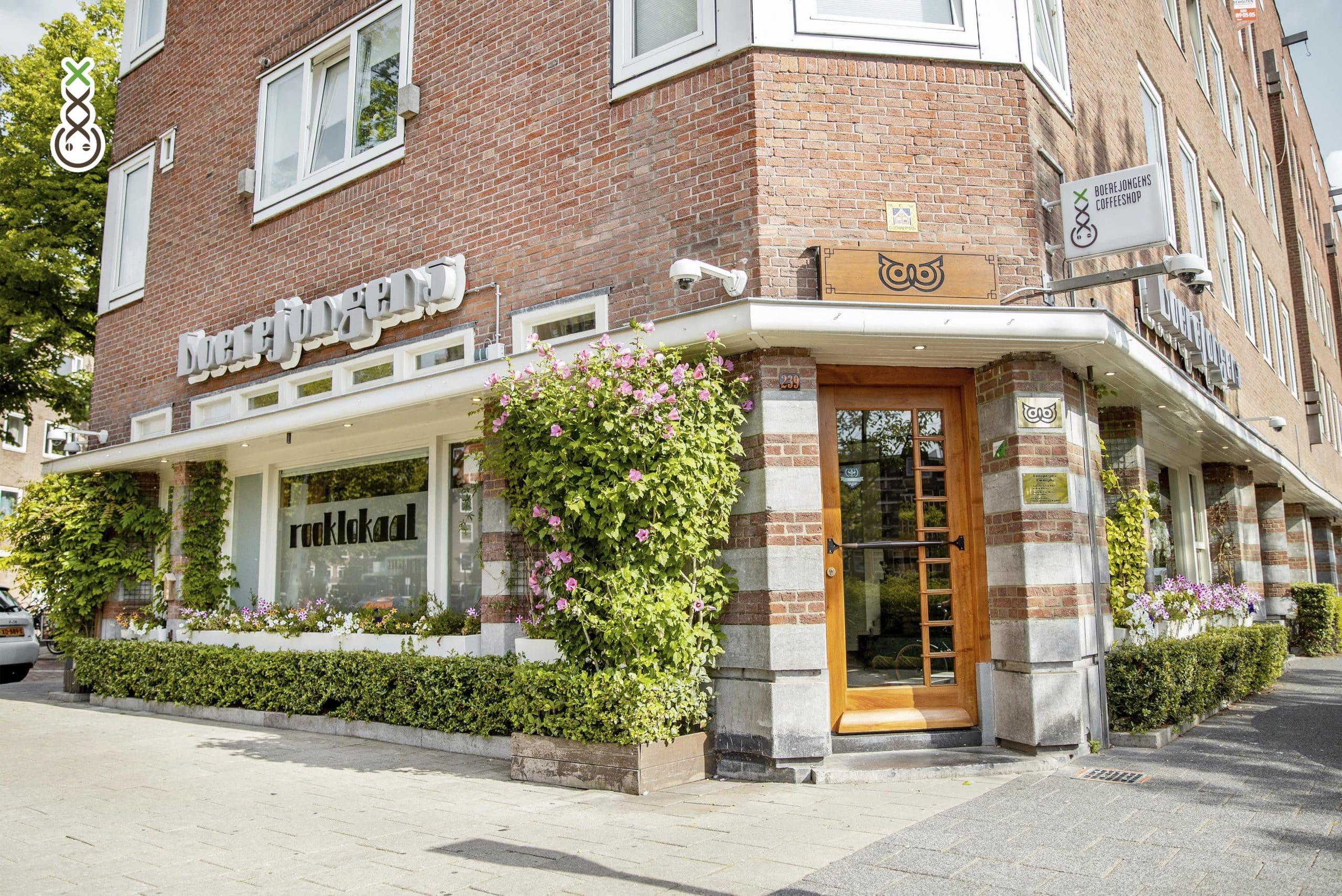 Coffee Shops Amsterdam : Les Boerejongens Coffeeshops