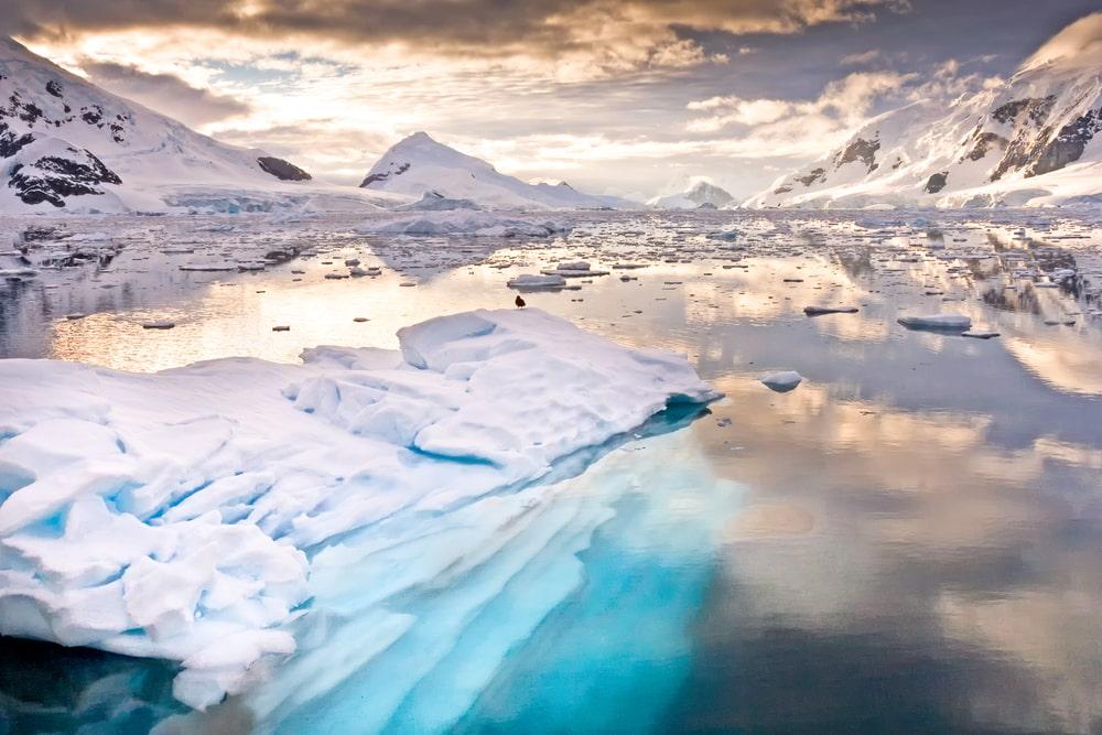 Plus grands déserts au monde : Antarctique