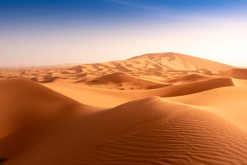Plus grands déserts au monde : Sahara