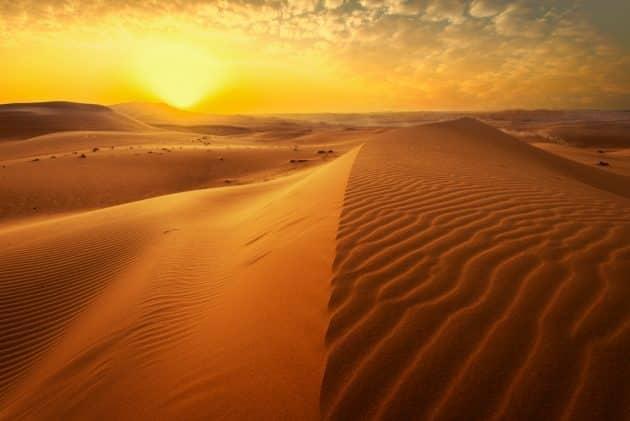 Les 10 plus grands déserts au monde