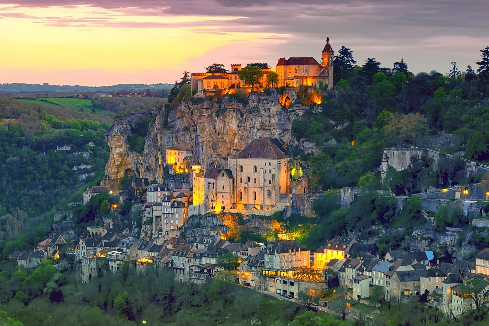 Visiter Lot : Rocamadour