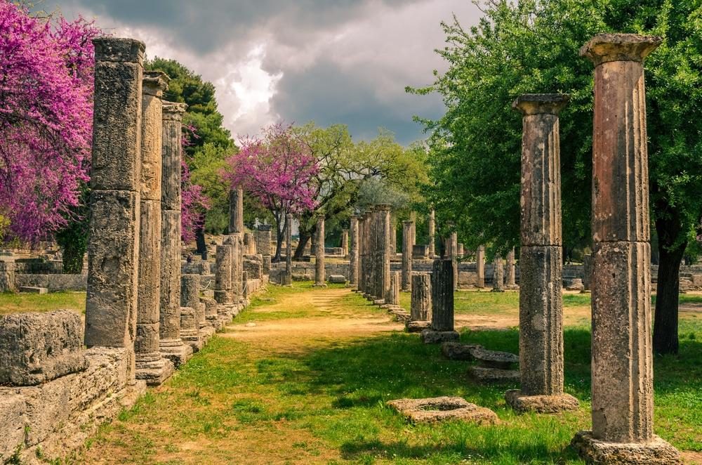 Visiter Olympie : Site Antique