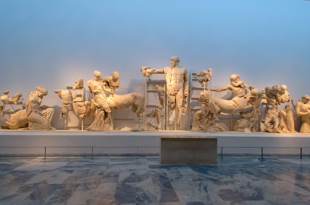 Visiter Olympie : Musée Archéologique