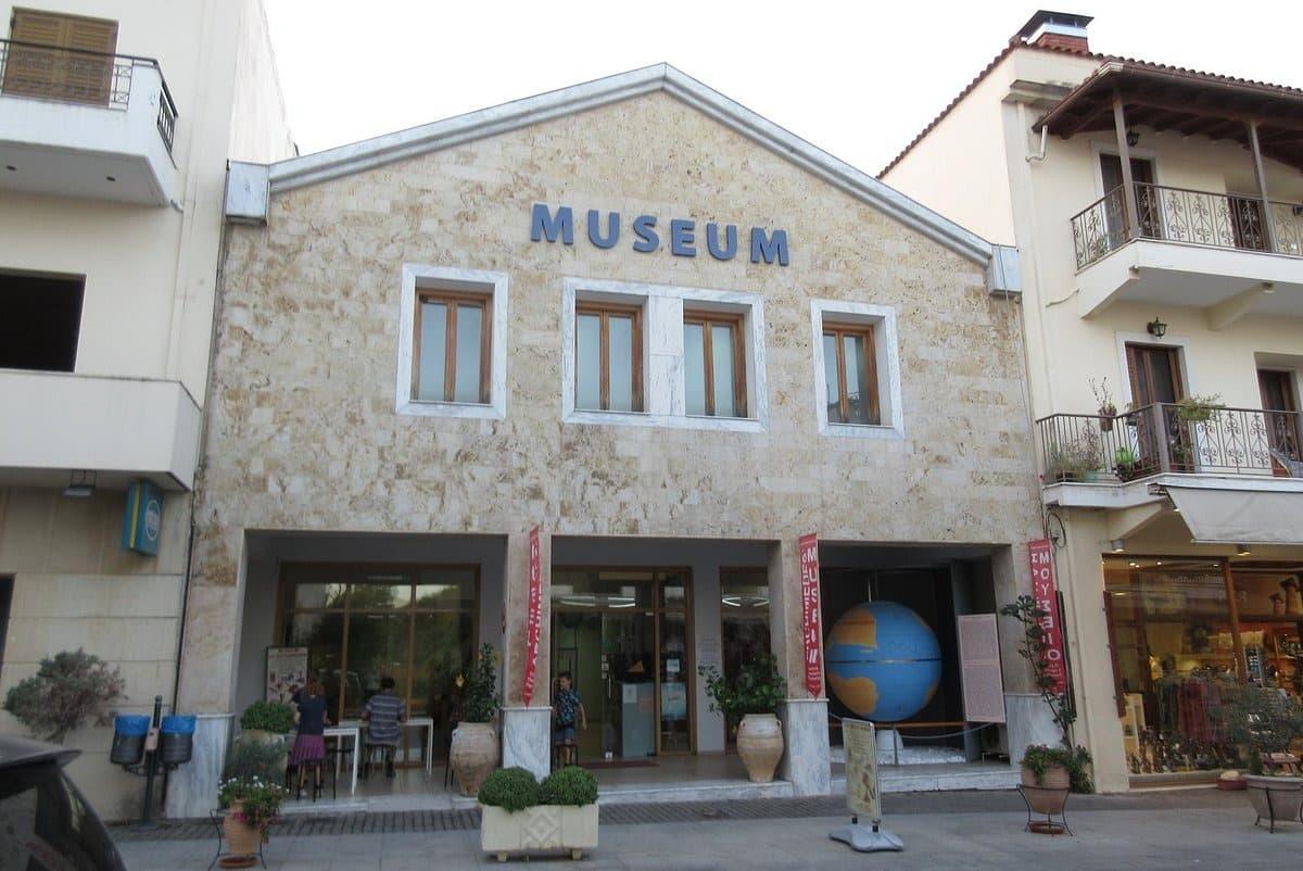 Visiter Olympie : Musée d'Archimède