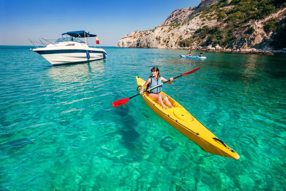 Faire à Propriano : Le kayak de mer