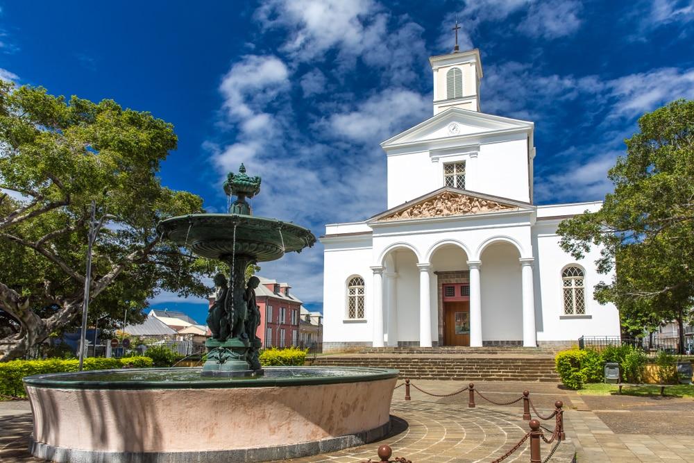 Visiter La Réunion : Cathédrale de Saint-Denis