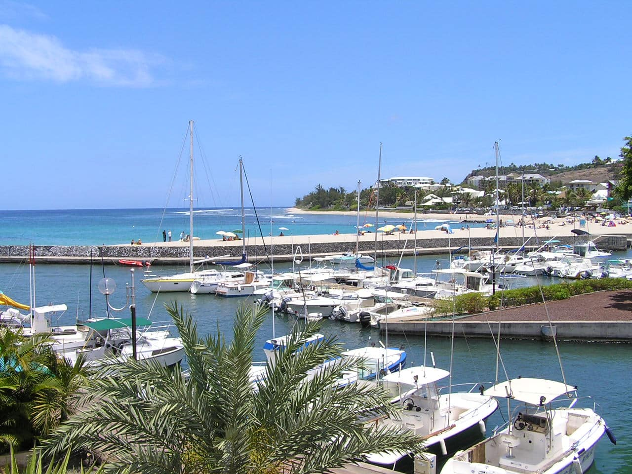Visiter La Réunion : Port de Saint-Gilles