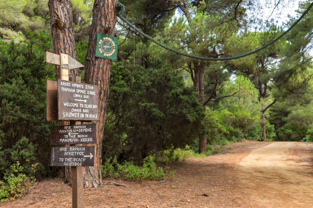 Visiter Skiathos : la randonnée