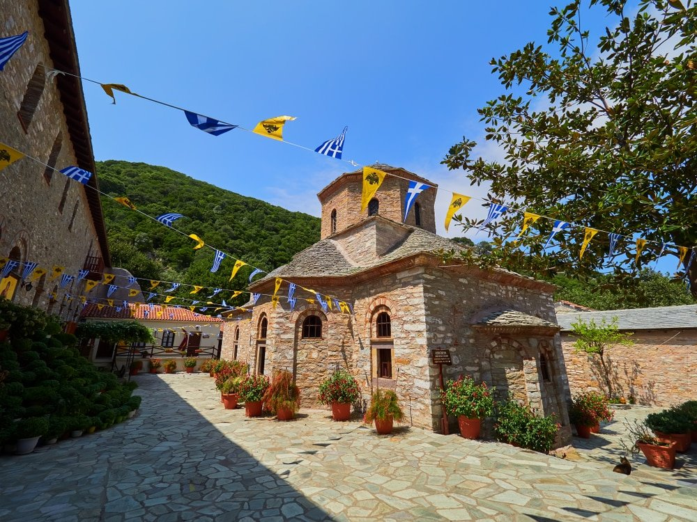 Le monastère Evangelistria