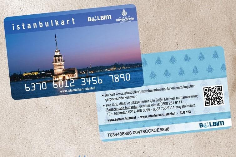 Le pass transport Istanbulkart