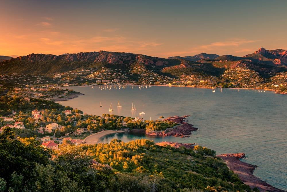 En bateau de Cannes à Saint-Tropez