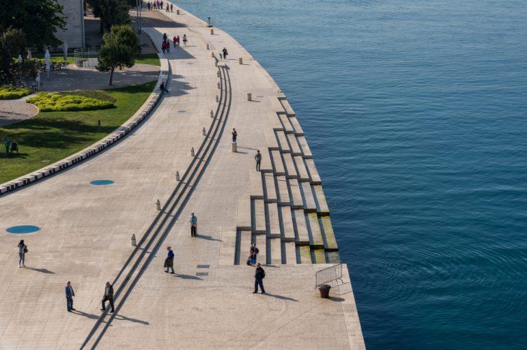 L'Orgue des mers - visiter Zadar