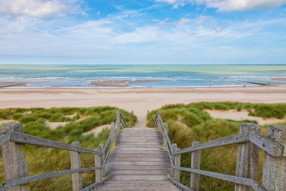 Les plages du nord - visiter Belgique