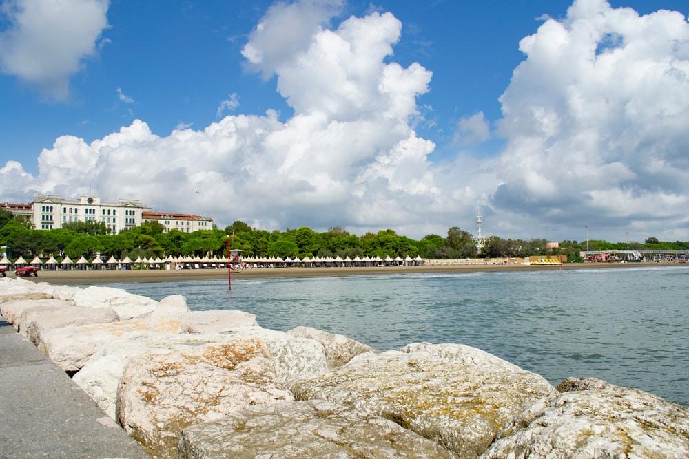 Les plages du Lido de Venise