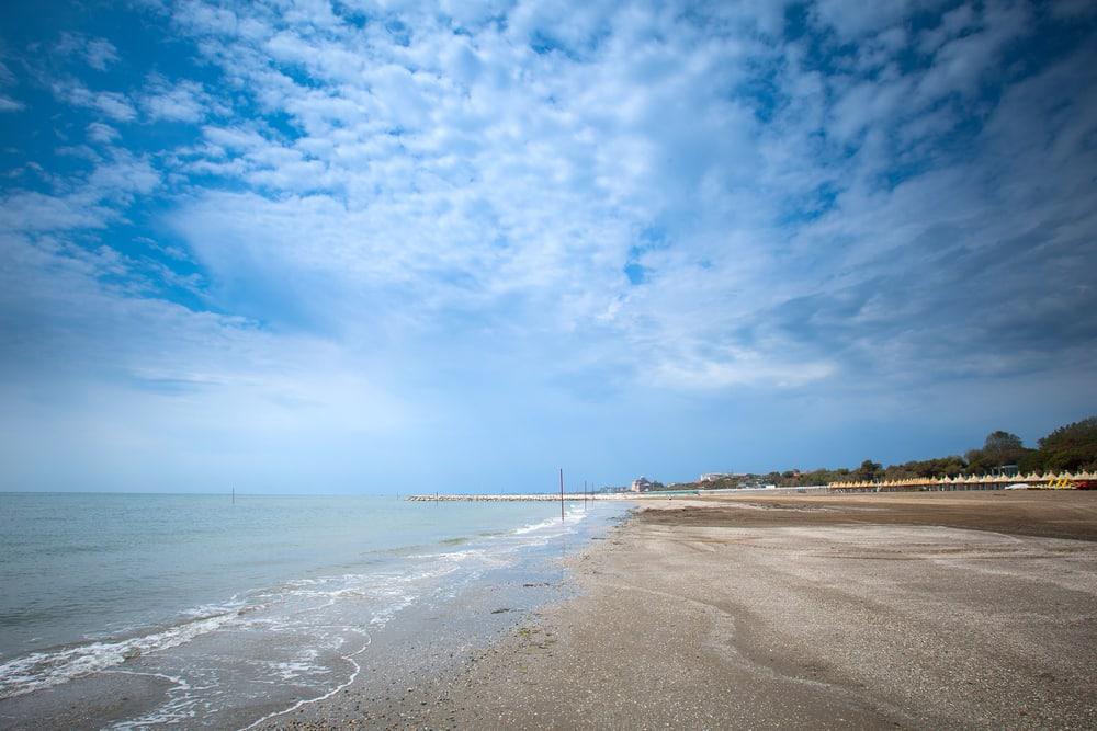 Plages Venise : La plage Alberoni