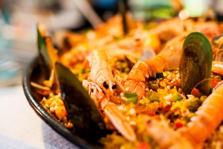 La dégustation du plat typique de l'île