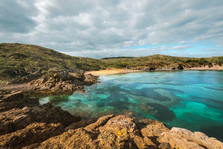 Plongée Minorque : Cala Tamarells