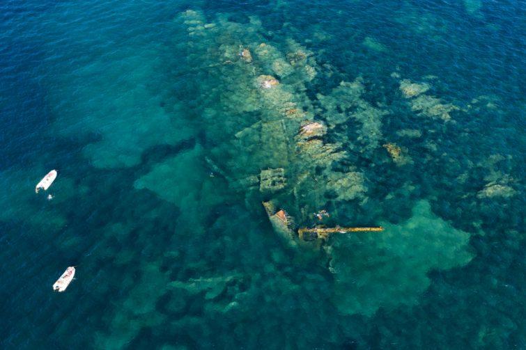 Plongée Sardaigne : L'île de Tavolara