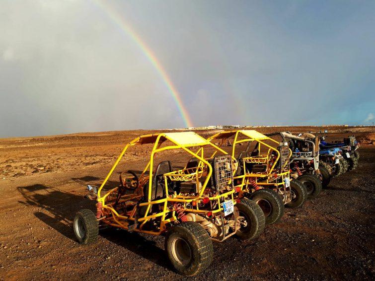 Excursión en quad o buggy en Corralejo