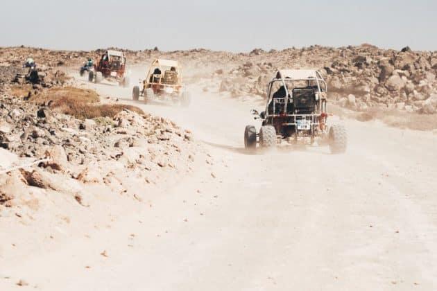 Les endroits où faire quad ou buggy à Fuerteventura