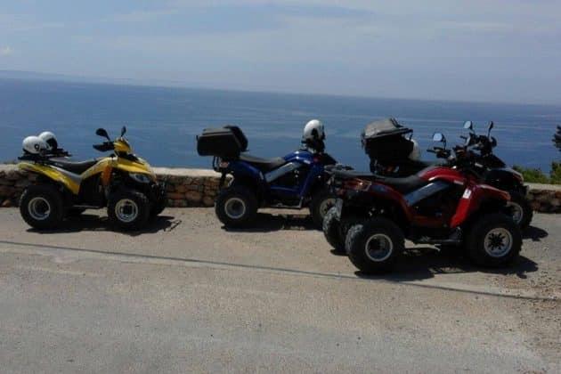 Les endroits où faire du quad ou du buggy à Ibiza