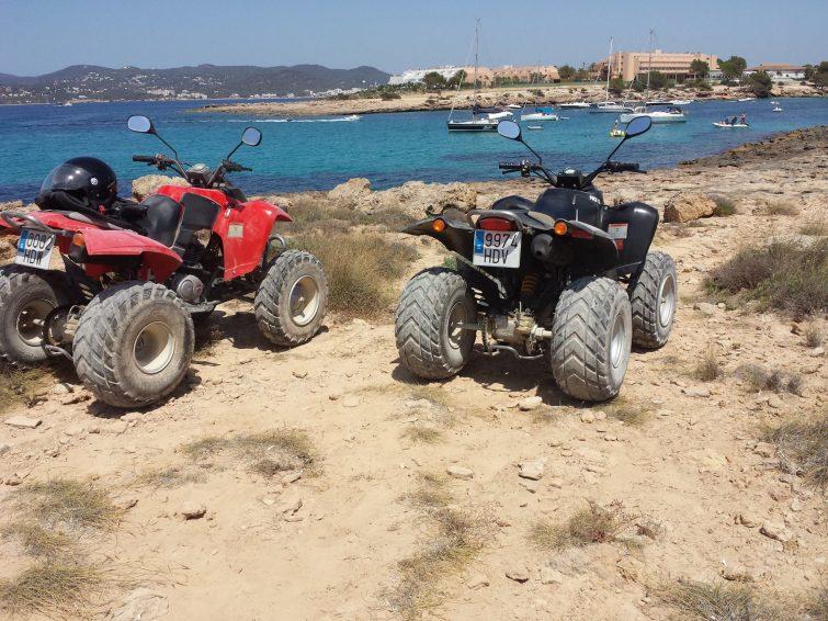 Quads en Ibiza