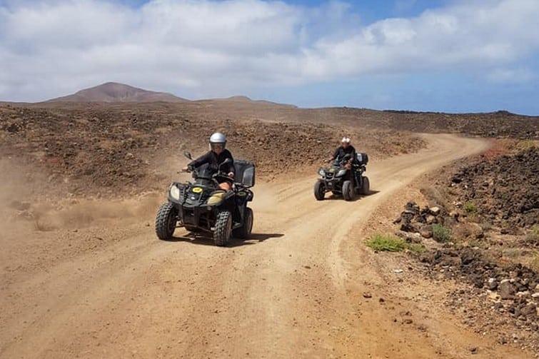 Quad en Playa Blanca