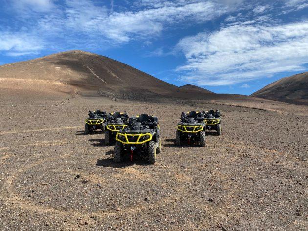 Les endroits où faire du quad à Lanzarote