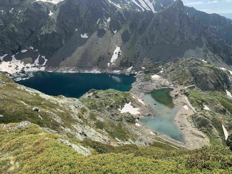 randonnees Chaîne de Belledonne lac