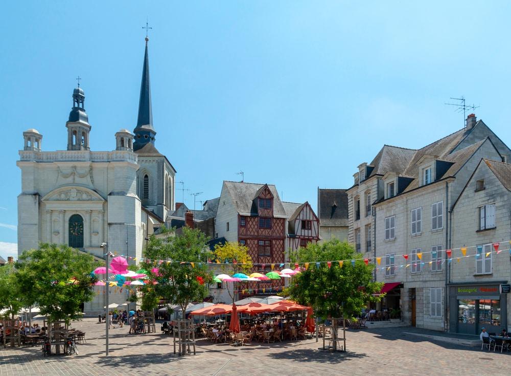 Saumur - visiter Châteaux de la Loire