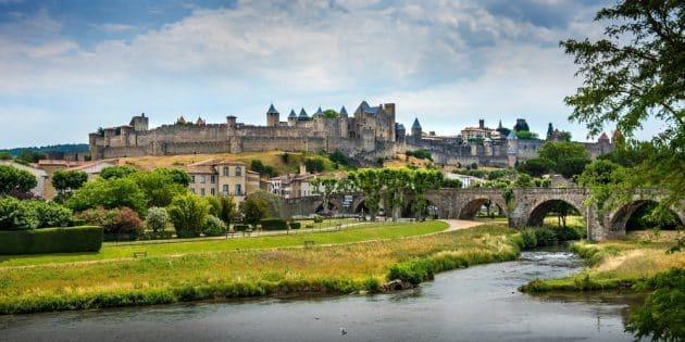 Epok' Tour, visite de Carcassonne en costume d'époque