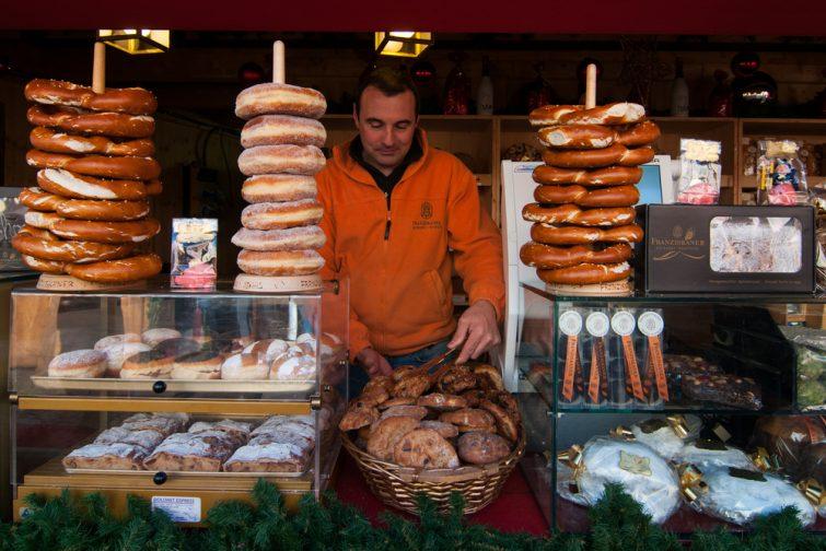 visiter Bolzano : BOzen Bretzel
