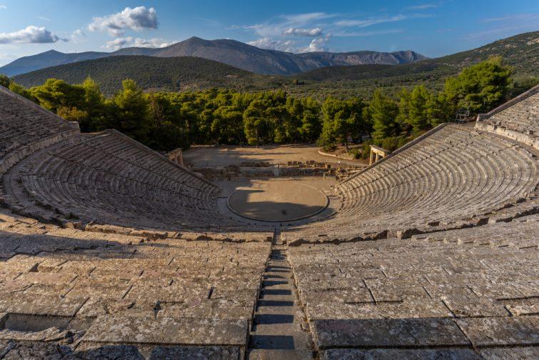 Le théâtre d'Épidaure - visiter Nauplie