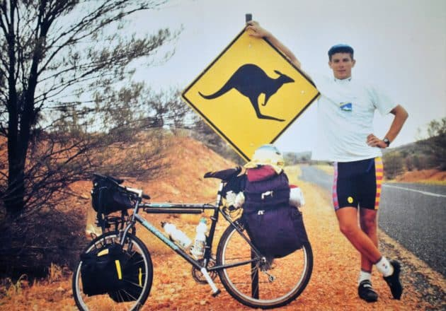 «J'ai fait le tour du monde à vélo»