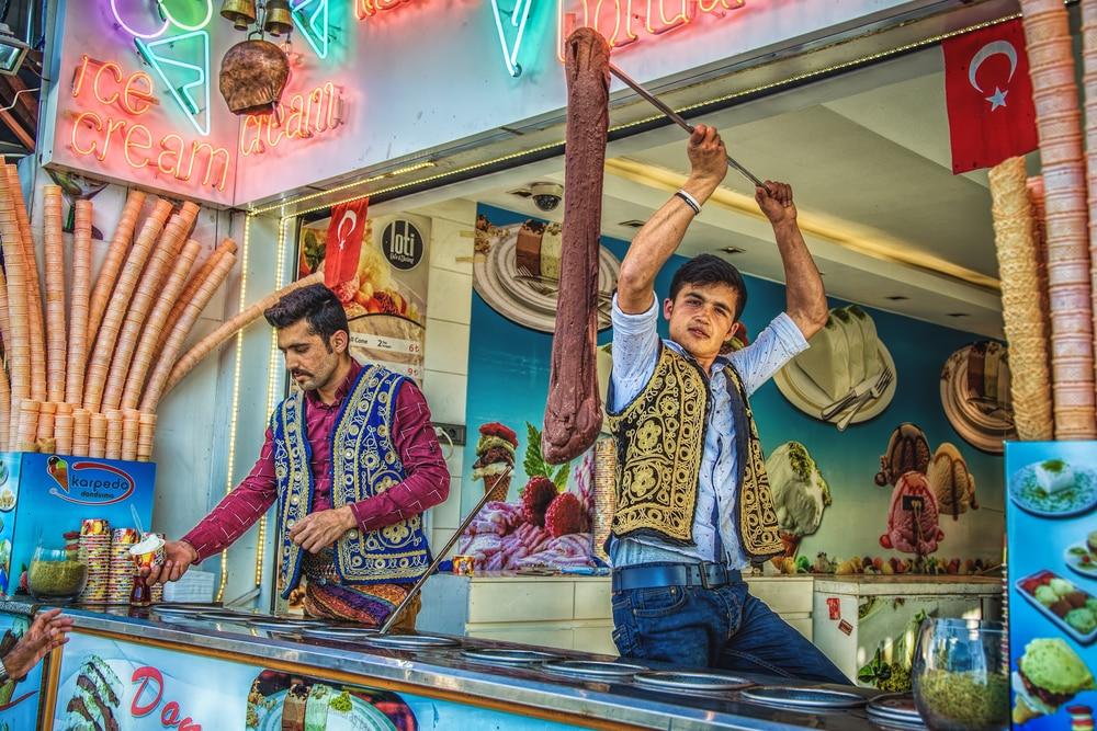 Dondurma - street food Istanbul