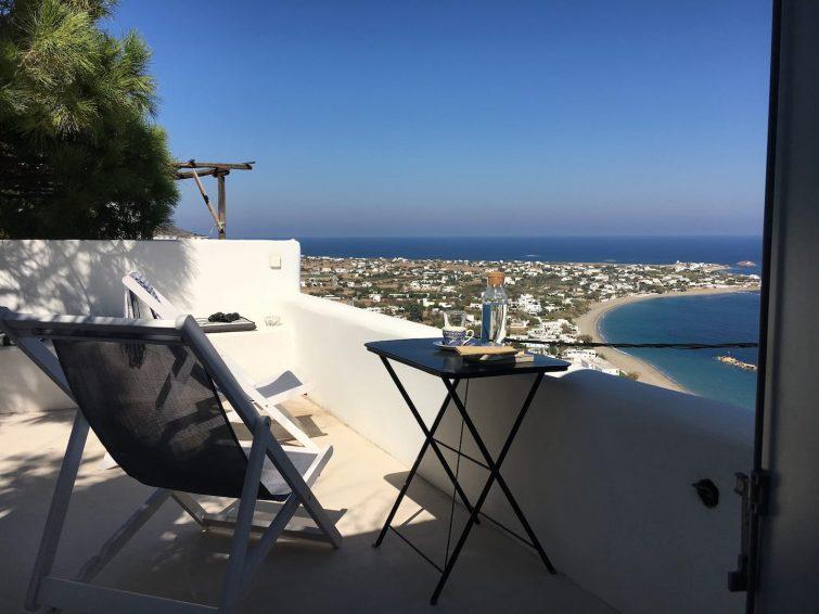 Entre Bleu II—Survolant la mer Egée