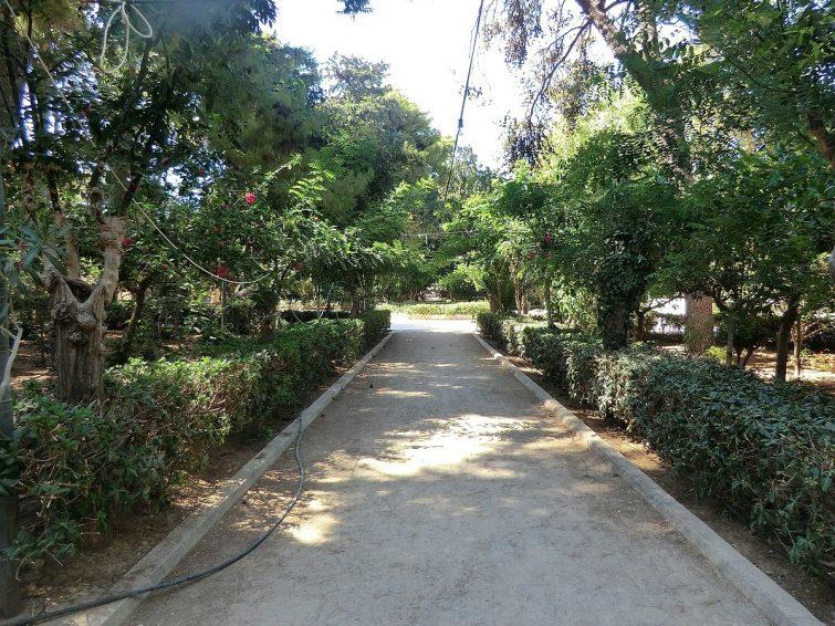 Le Jardin Municipal - visiter Réthymnon