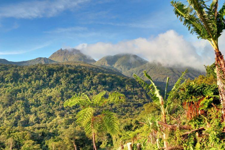 La Soufrière - visiter Guadeloupe