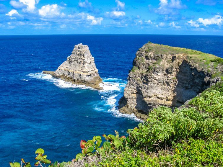 La Porte d'Enfer - visiter Guadeloupe